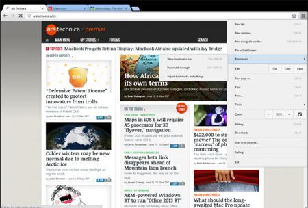 Yeni Google Chrome 24