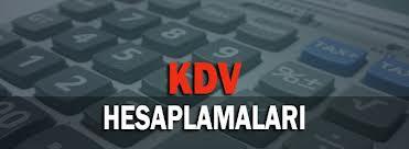 KDV dahil fiyattan mal ve hizmet bedelini hesaplamak
